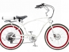 Cool: Pedego Cruiser e-Bike Herenmodell in weiß