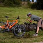 e-Bike-Tankstellen - auch für den Menschen