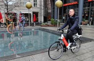 Elektromobilität bei der DB AG e-Call a Bike Pedelec