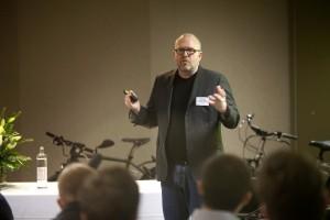Klaus Bondam auf dem Kalkhoff Mobilitätskongress