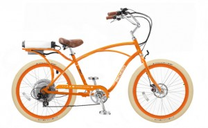 Pedego Cruiser e-Bike Orange