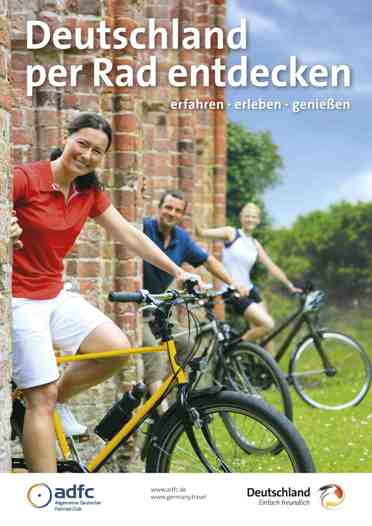 ADFC-Broschüre Deutschland per Rad entdecken