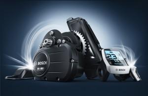 Bosch E-Bike-System Motor-Akku-Bedieneinheit