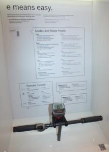 Intuvia-System auf dem Bosch Messestand Eurobike2012