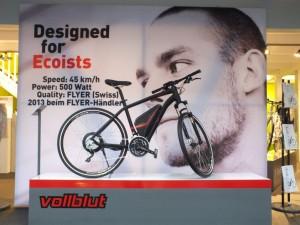 Präsentation des Flyer Vollblut auf der Eurobike 2012