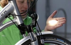 E-Bike Lichttest