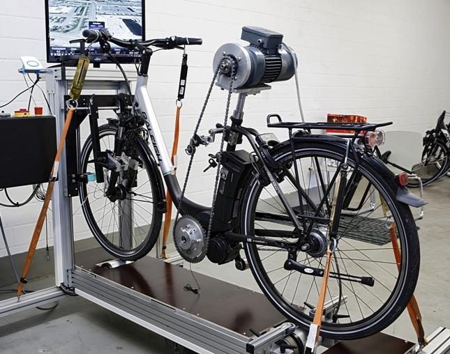 E-Bike auf dem Prüfstand bei der Stiftung Warentest