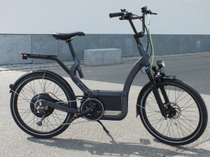 Klever Mobility E-Bike B25 auf der Messe IspoBike