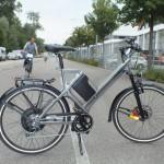 Das neue E-Bike S45 von Klever Mobility auf der Messe Eurobike