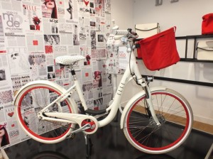 Matra mit Pariser E-Bike-Chic