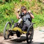 Felix Brunner mit Handbike und Sunstar iBike Motor - Foto (c) Simon Toplak