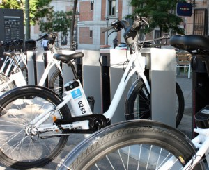 E-Bike-sharing BiciMAD Madrid
