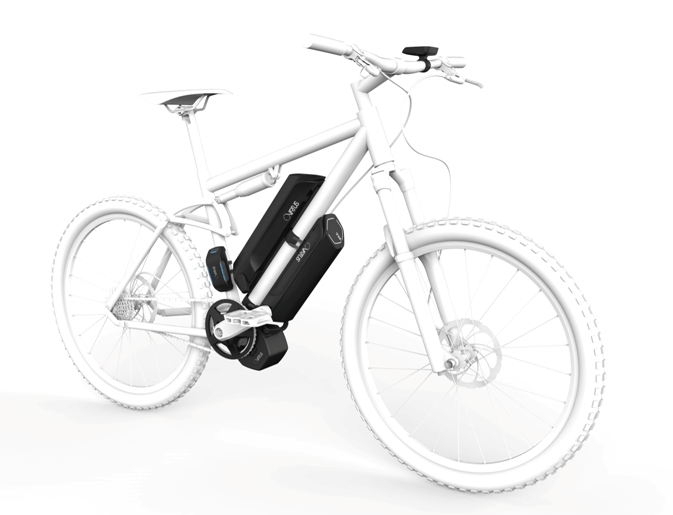 Sunstar VIRTUS - modulares E-Bike-Antriebssystem