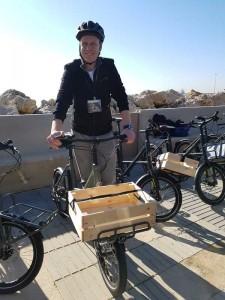 Mit Spaß dabei: Derby Cycle CEO Janko van der Heiden