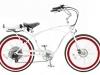 Cool: Pedego Cruiser e-Bike Herenmodell in weiß