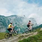 Mit e-Bikes im Hochgebirge unterwegs