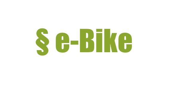 Gesetzliche Vorschriften für E-Bikes und Pedelecs