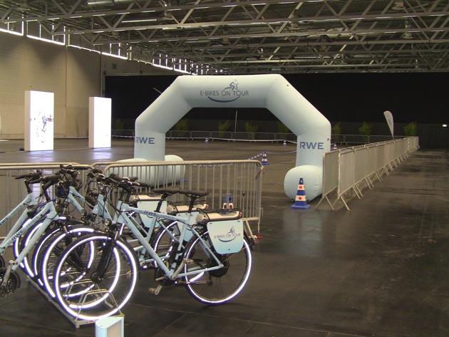 RWE Parcour E-Bikes on Tour