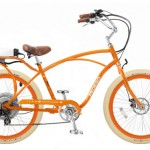 Retro: Pedego Cruiser e-Bike in orange
