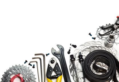 Wartung und Fahrradreparatur