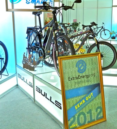 ExtraEnergy E-Bike-Test 2011/2012