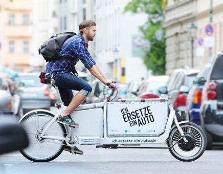 """DLR testet Lasten-E-Bikes """"Ich ersetze ein Auto"""""""