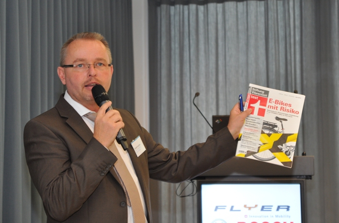 Reiner Kolberg - StiWa Pressekonferenz