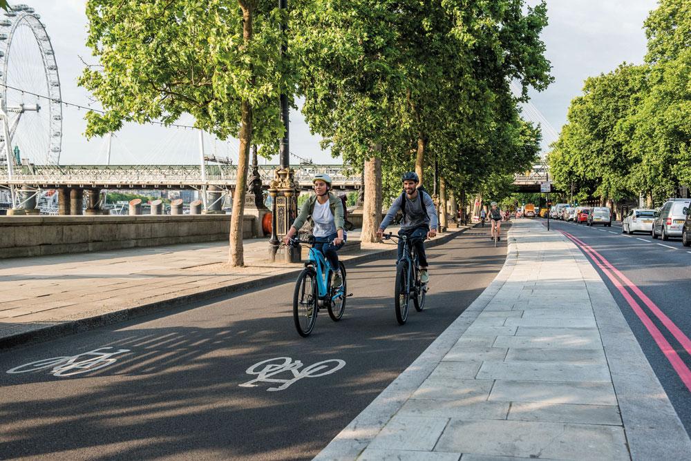 E-Bikes ideal für Pendler